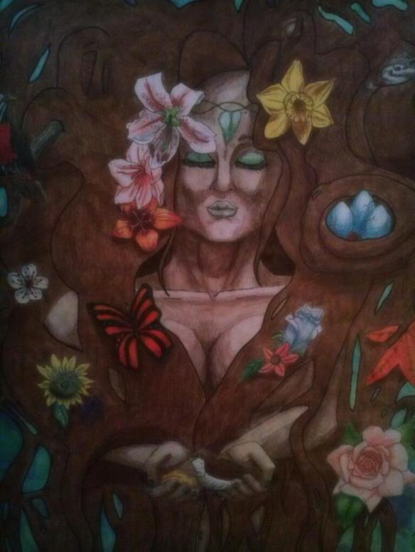 Mother Nature Artwork by Michelle Ashley Hannock