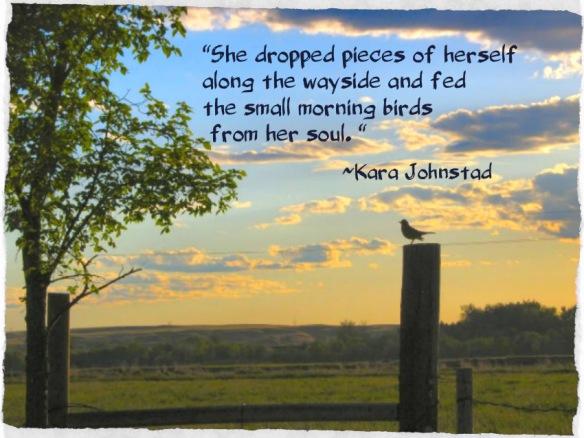 She Soul Fed The Morning Birds